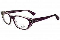 Ochelari de vedere Ray-Ban Unisex - RX5242 - culoare Maro