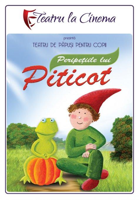 Peripețiile lui Piticot – la Teatru la Cinema din Afi Palace Cotroceni