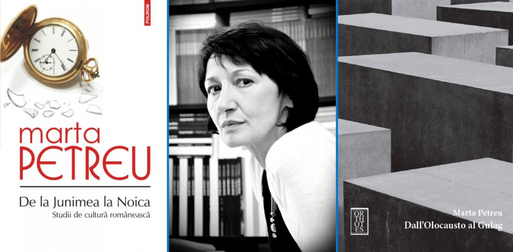 De la Junimea la Noica: Studii de cultură românească, de Marta Petreu, în limba italiană