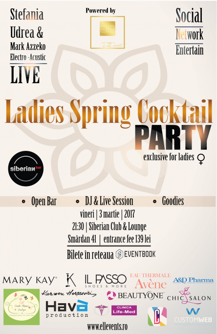 Ladies Spring Cocktail Party