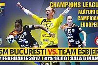 CSM Bucuresti - Team Esbjerb