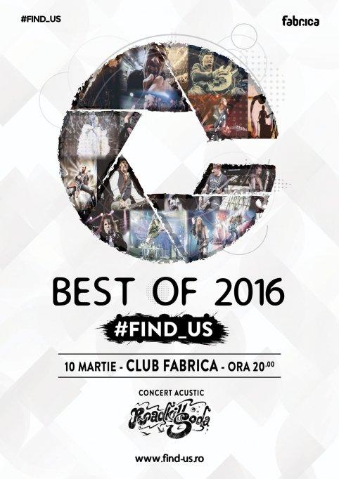 Expozitie de fotografie de concert #FIND_US – Best of 2016