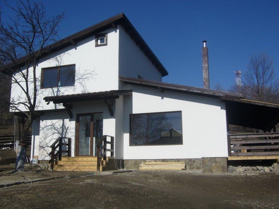 Cu gandul la viitor - case din lemn pe un singur nivel