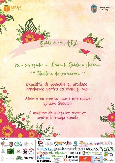 Gradina cu Artisti - Grădina de primăvară