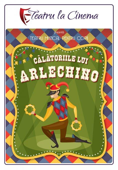 Calatoriile lui Arlechino – Teatru la Cinema din Sun Plaza