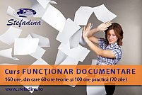 Curs functionar documentare