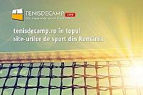 tenisdecamp.ro în top 5 site-uri de sport din România