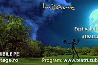 """Cultura se răsplătește prin cultură. Festivalul de teatru urban în aer liber """"Teatru sub lună"""" le oferă acces gratuit tinerilor de 10!"""