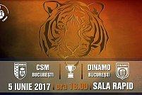 CSM Bucuresti - Dinamo Bucuresti