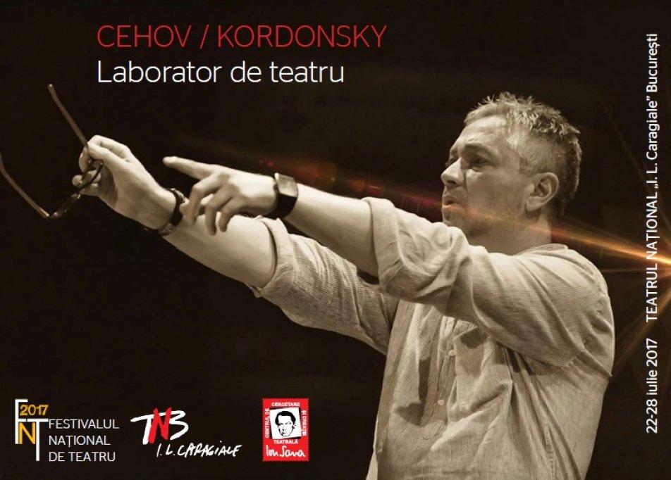 Laborator de teatru susținut de regizorul Yuri Kordonsky în România