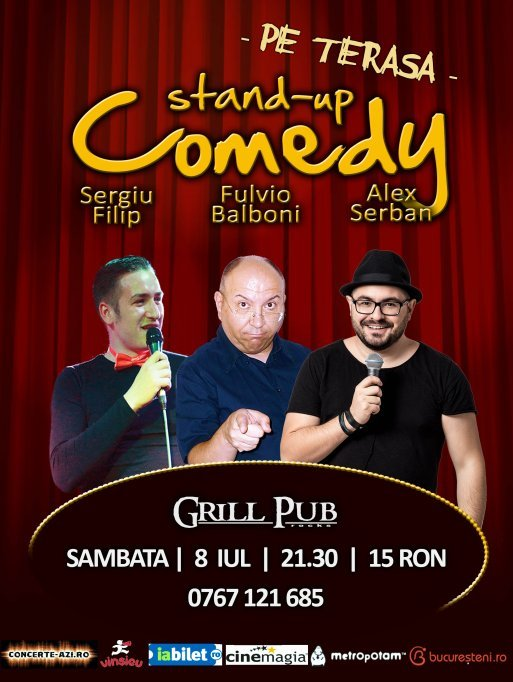 Stand-UP Comedy in Grill Pub