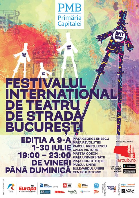 Festivalul Internațional de Teatru de Stradă București B-FIT in the Street! 2017