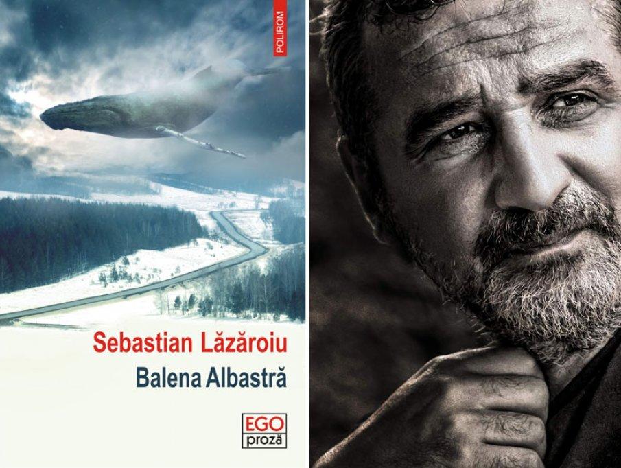 Balena Albastră, un roman cu accente thriller, de Sebastian Lăzăroiu, la Polirom