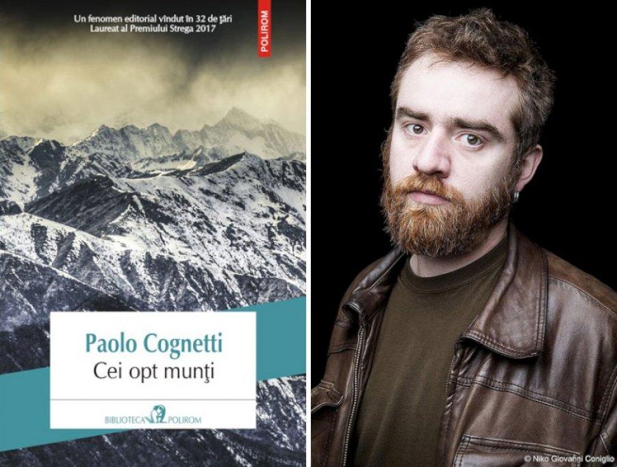 Laureatul Premiului Strega 2017, în Biblioteca Polirom: Paolo Cognetti, Cei opt munți