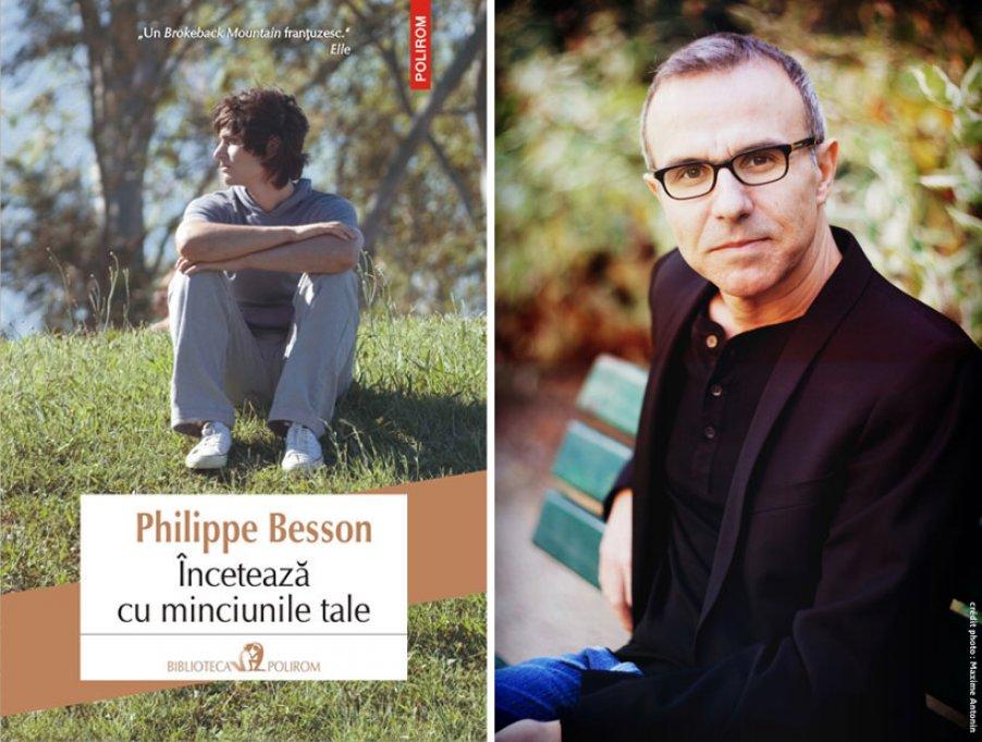 """Nou în colecţia """"Biblioteca Polirom"""": Încetează cu minciunile tale, un roman-confesiune semnat de Phillipe Besson"""