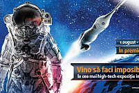 ABOVE AND BEYOND - expozitie aeronautica si aerospatiala blockbuster la Sun Plaza