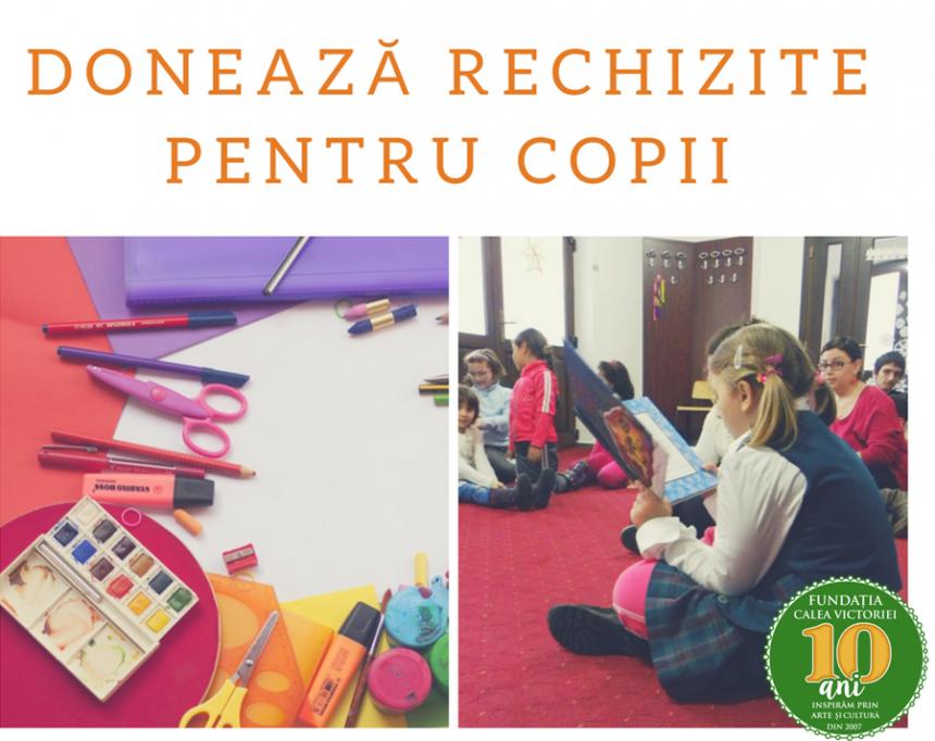 Caiete, cărți și ghiozdane – Rechizite pentru copiii de la Centrul de zi Sfânta Sofia