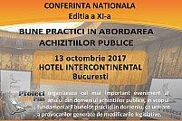 Conferinta Nationala BUNE PRACTICI IN ABORDAREA ACHIZITIILOR PUBLICE