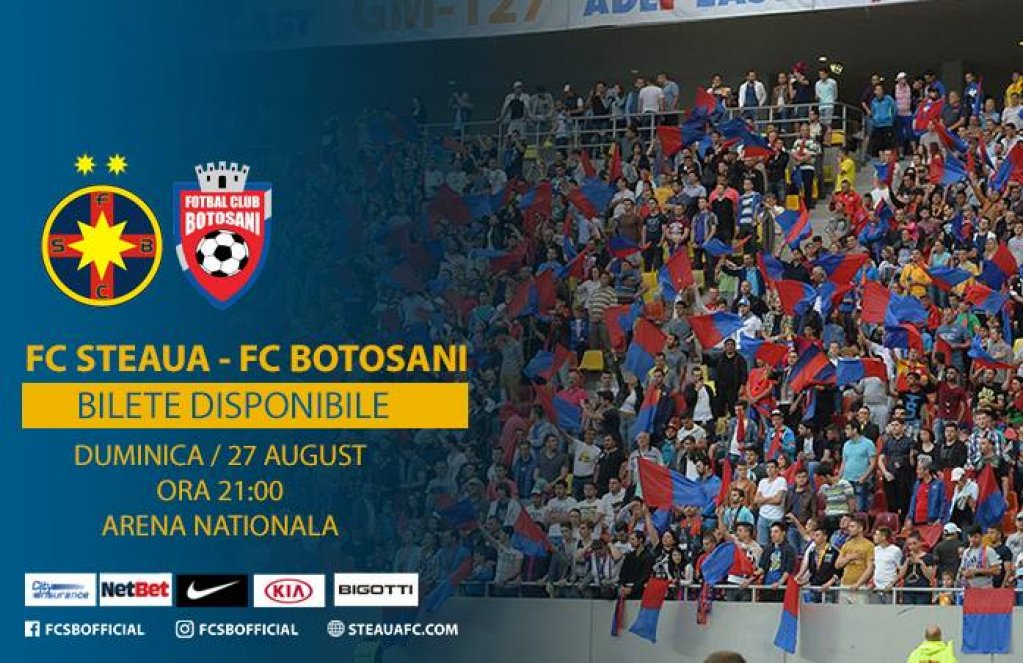 Steaua Bucuresti - FC Botosani