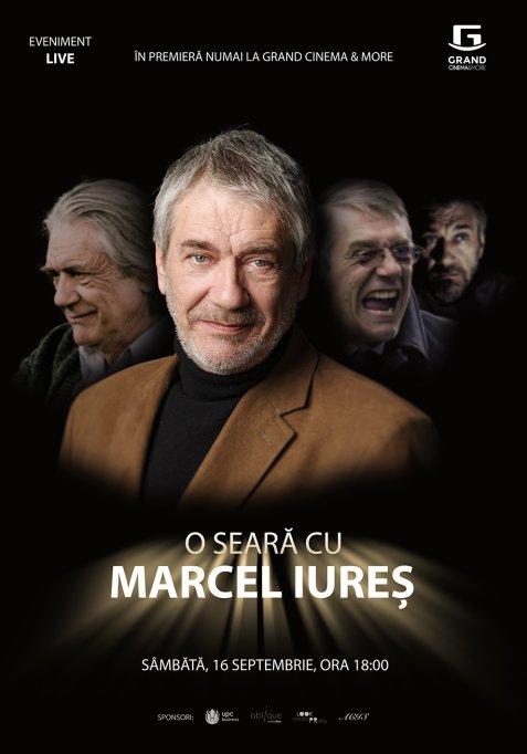 În acest weekend actorul Marcel Iureș își întâlnește fanii