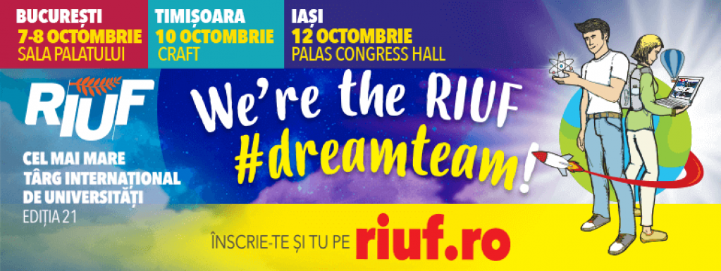 RIUF - The Romanian International University Fair