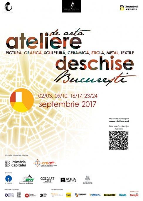 Ateliere de Artă Deschise în București, Ediția Enescu - weekendul 09/10 septembrie 2017