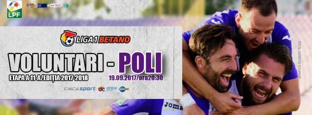 FC Voluntari - Poli Timisoara