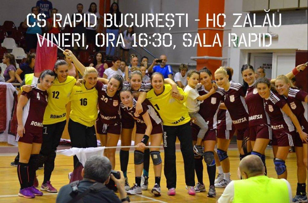 Rapid Bucuresti - HC Zalau