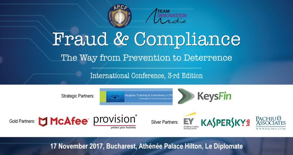 Conferinta Internationala Frauda si Conformitate - de la prevenire la descurajare - editia a 3-a