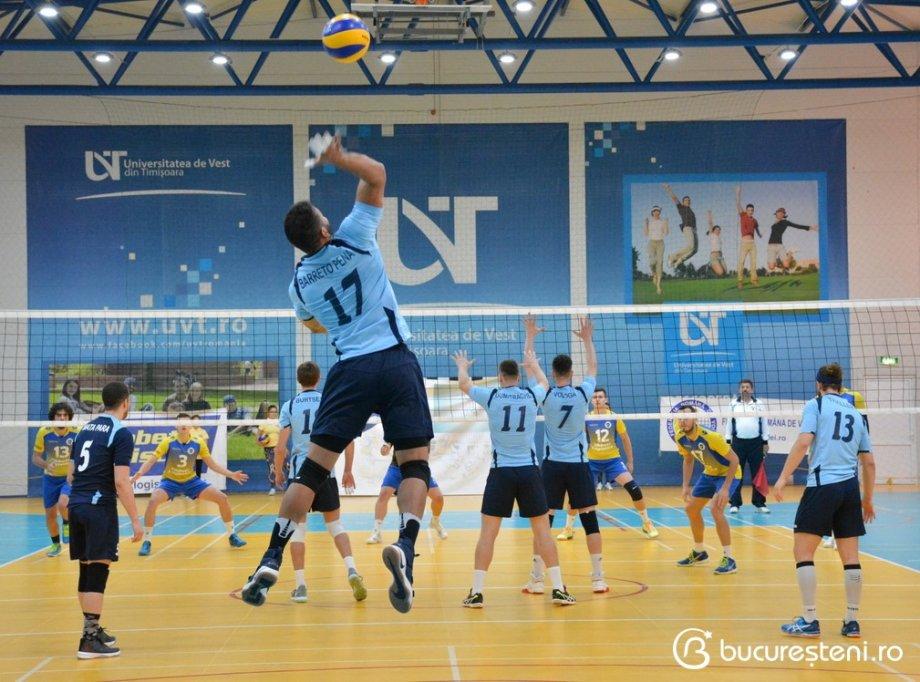 CSU Universitatea de Vest Timisoara 0-3 CSM Bucuresti