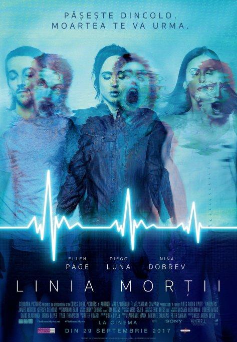 """Adrenalină fatală în thrillerul """"Flatliners"""" / """"Linia morții"""", la cinema"""