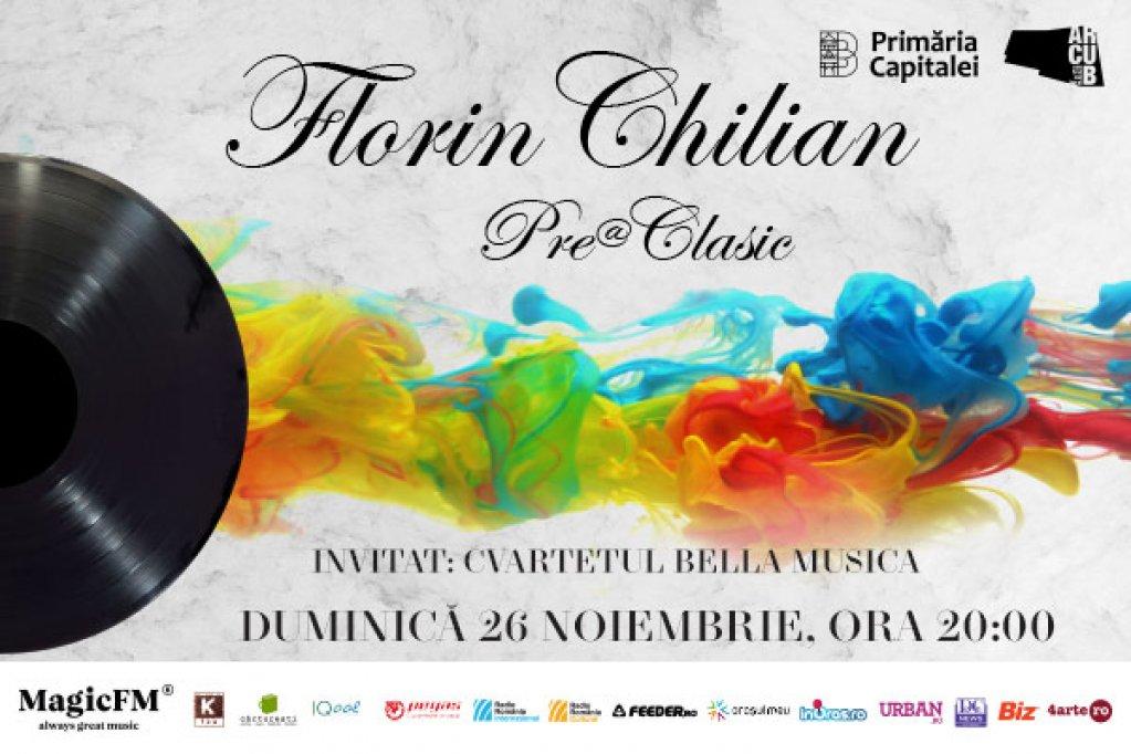 Florin Chilian devine Pre@Clasic în noiembrie, la ARCUB