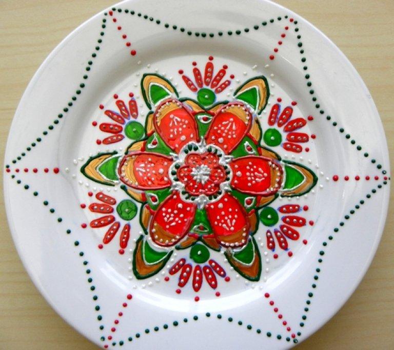 Atelier creativ de Crăciun: pictură pe ceramică și ceară