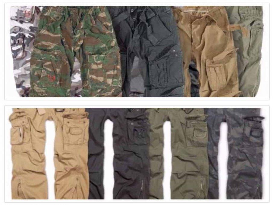 Pantaloni cargo vintage