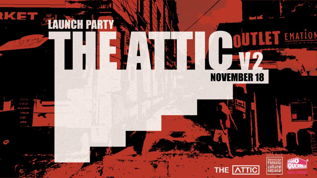 Lansarea The Attic Magazine versiunea 2