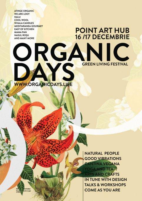 Începe Organic Christmas, festivalul iernii verzi! Pe 16 și 17 decembrie