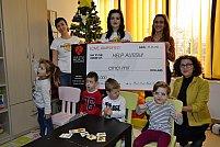 HARD ROCK CAFE București donează în beneficiul Asociaţiei HELP AUTISM
