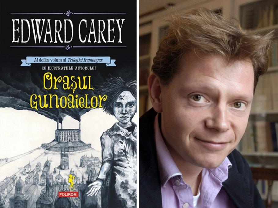 """Al doilea volum al Trilogiei Iremonger, de Edward Carey, în colecția """"Junior"""" a Editurii Polirom: Oraşul gunoaielor"""