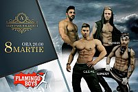 De 8 Martie, Flamingo Boys Striptease Show la Andy Park Ballroom!