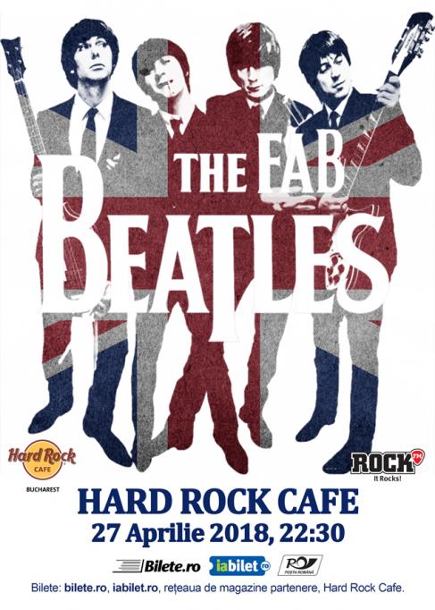 Formatia Tribut Beatles Numarul 1 in Anglia (re)vine in Romania, la cererea publicului!