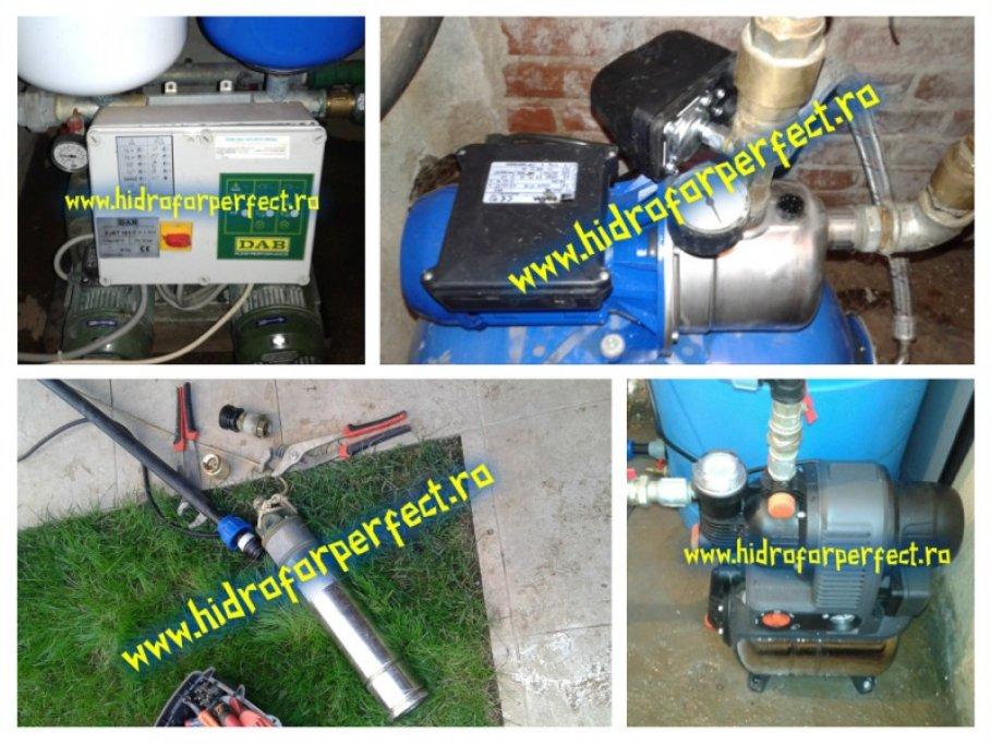 Montaj, interventie si reparatii pompe si hidrofoare