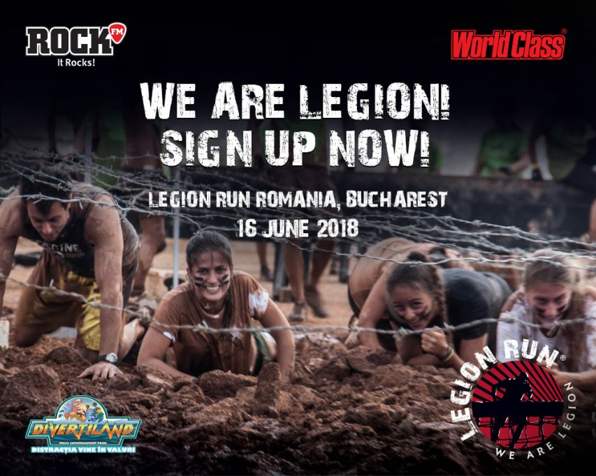 Legion Run in Romania