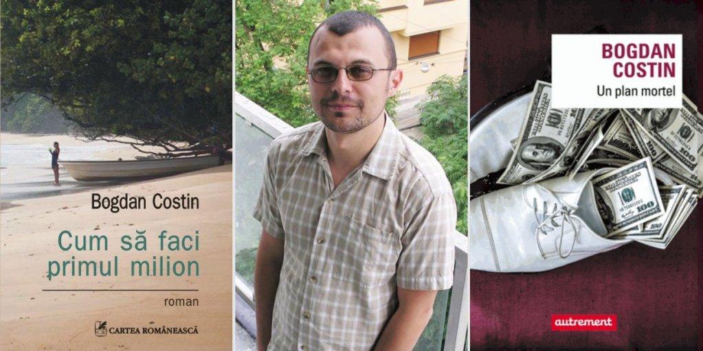 Romanul Cum să faci primul milion, de Bogdan Costin, a apărut în limba franceză