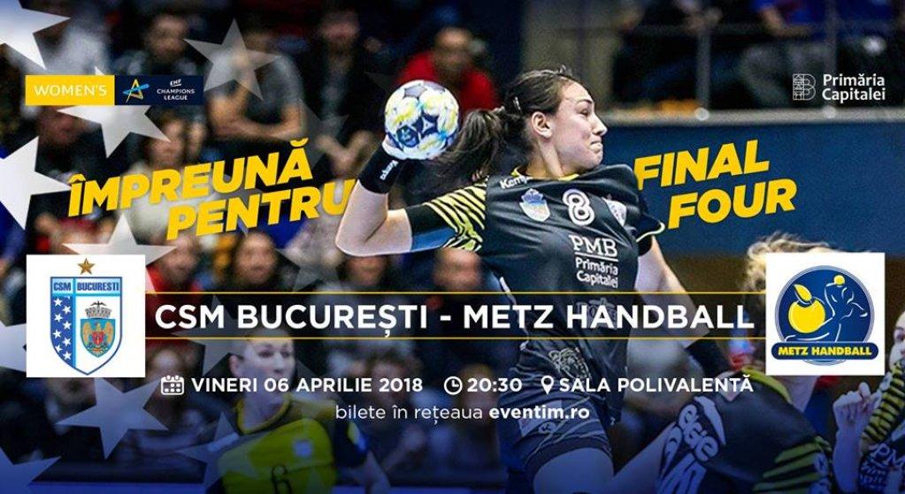 CSM Bucuresti - Metz Handball