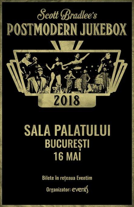 Doamnelor, primăvara asta, la muzică, se poartă vintage: trupa Postmodern Jukebox revine în concert la Bucureşti, în 16 mai 2018