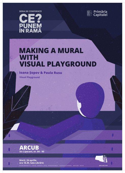 Despre picturi murale, design grafic și comunitatea locală a creativilor la conferința #CePunemÎnRamă?