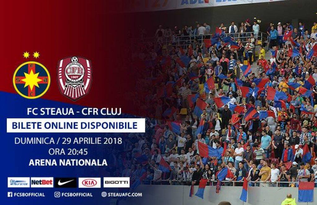 Steaua Bucuresti - CFR Cluj