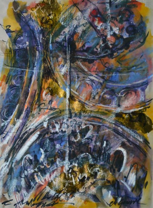 Hotarul nevăzut, artist Mihail Gavril