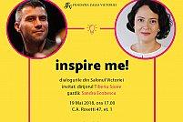 INSPIRE ME! Dialogurile din Salonul Victoriei: Invitat dirijorul Tiberiu SOARE