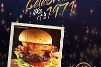 De ziua Hard Rock Cafe, Original Legendary Burger va costa doar 2,8 lei, echivalentul a 71 de cenți, ca în 1971